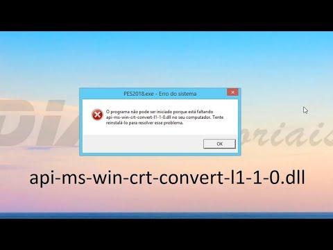 Ошибка api ms win crt convert l1 1 0 dll