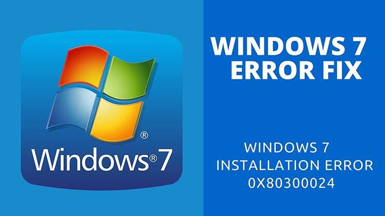 Как исправить ошибку 0x80300024 при установке Windows