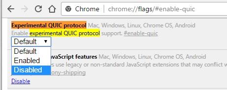 Настраиваем нужные параметры в Google Chrome