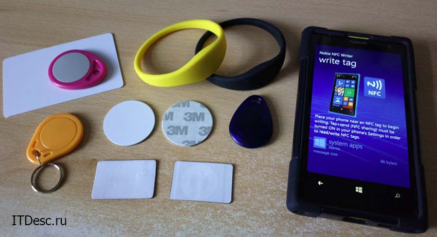 Программирование NFC меток на смартфоне