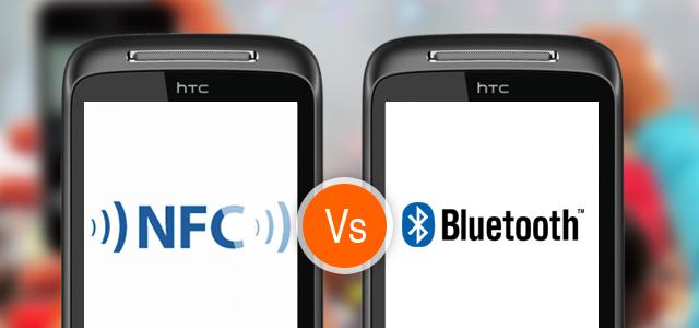 Разница между NFC и Bluetooth